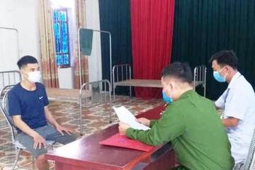 Nghệ An: Trốn khỏi khu cách ly, người đàn ông bị phạt 5 triệu đồng