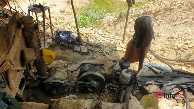 Quảng Nam: Ngăn chặn, đẩy đuổi các đối tượng khai thác vàng trái phép ở Bồng Miêu
