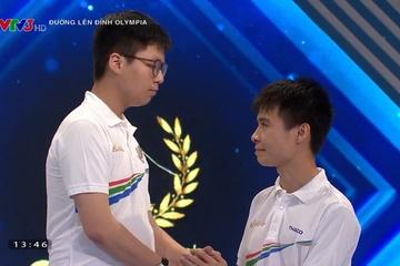 Nam sinh giành vé vào chung kết Olympia với cách biệt chỉ 5 điểm
