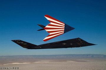Những kiểu sơn độc lạ của 'chim cắt bóng đêm' F-117