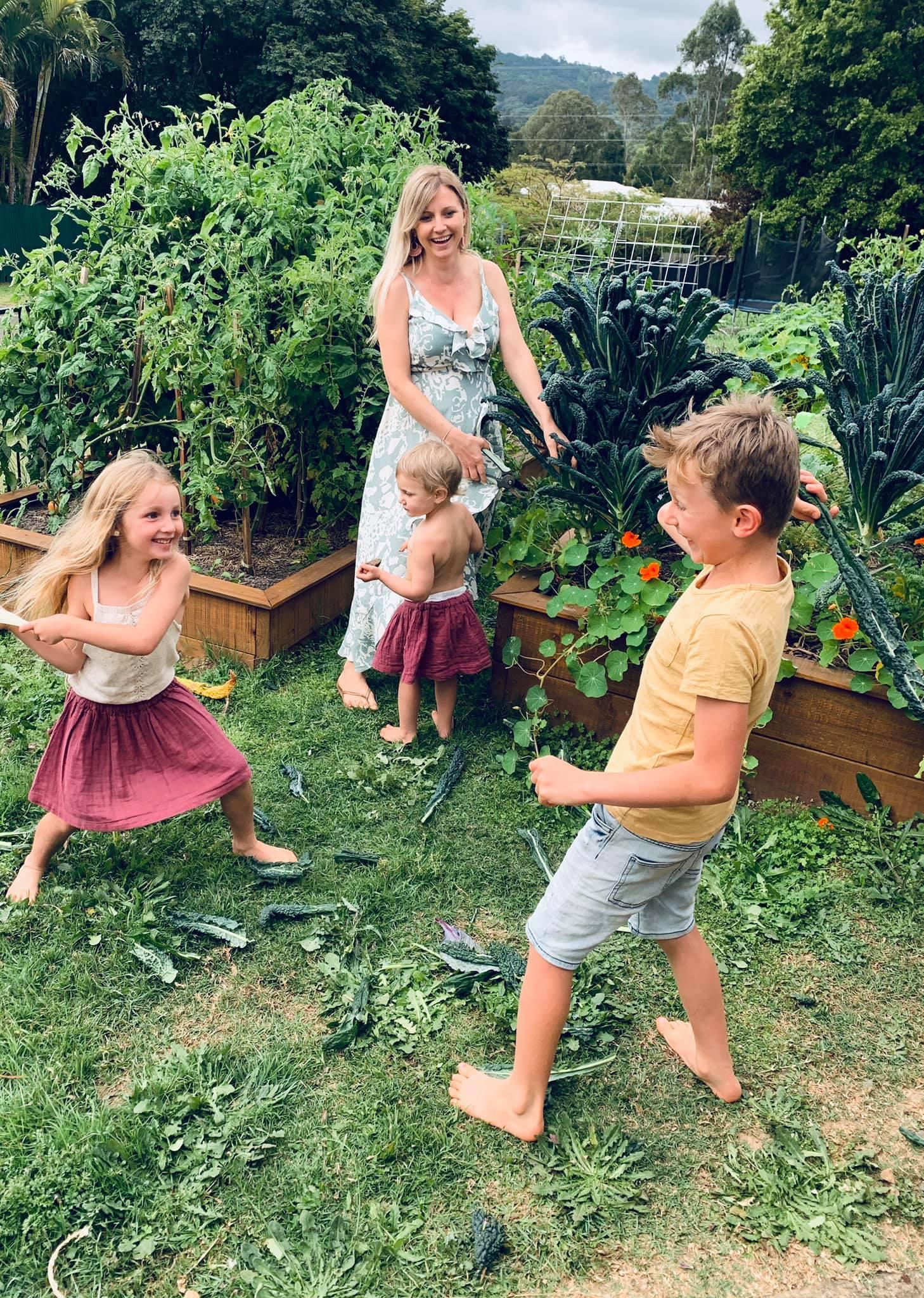 khu vườn,cách dạy con