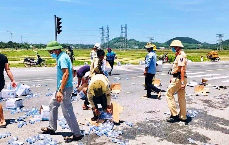 Cảnh sát giao thông,Nghệ An,hành động đẹp