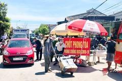 Nghệ An: Các lực lượng căng mình bám chốt phòng dịch dưới nắng như đổ lửa