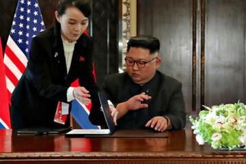 Em gái ông Kim Jong-un 'dội gáo nước lạnh' vào niềm hy vọng của Mỹ