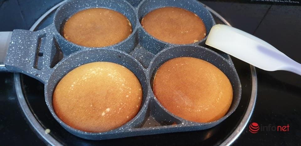 cách làm bánh Dorayaki đậu đỏ