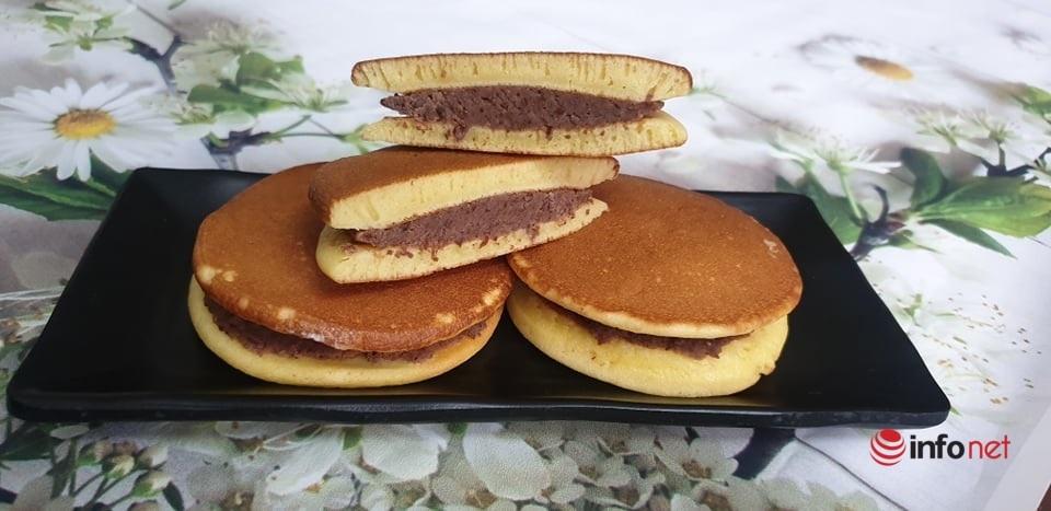 cách làm bánh Dorayaki