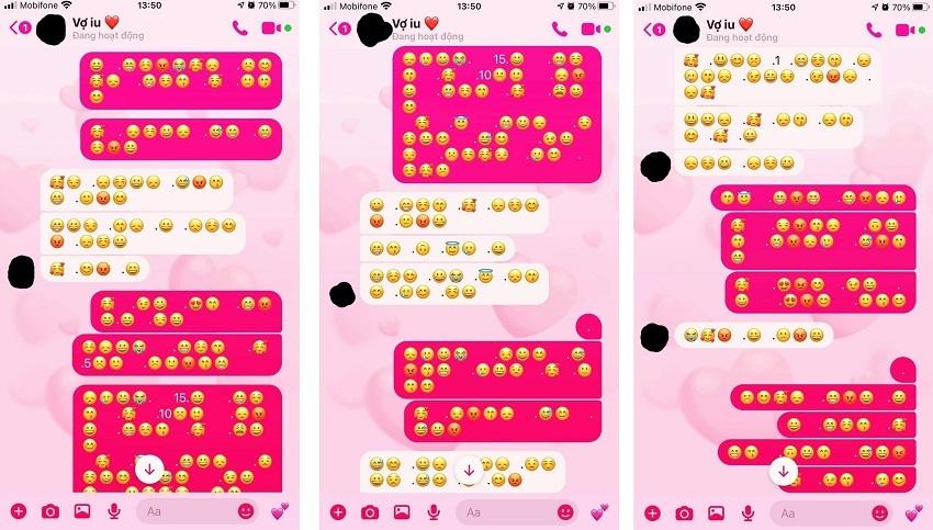 Phát hiện kiểu tin nhắn bí ẩn của chồng với bồ, cô gái khơi mào trend mới cho dân mạng