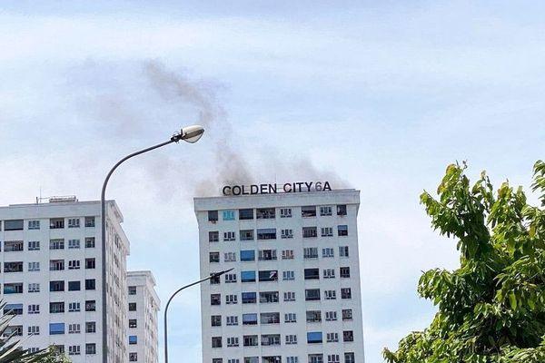 Chung cư Golden City 6,hỏa hoạn,Phòng cháy chữa cháy,TP Vinh,Nghệ An