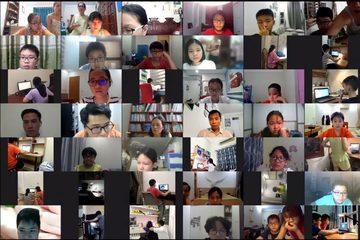 """Thi học kỳ online tại Hà Nội: Cô giáo như """"cảnh sát trưởng"""", tính khách quan trông chờ học sinh tự giác"""