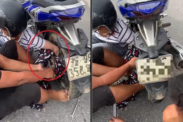 Lại thêm một vụ tai nạn vì áo chống nắng, cộng đồng mạng cảnh bảo các 'ninja'