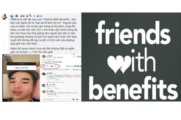 Quan hệ FWB 'trên tình bạn dưới tình yêu' khiến giới trẻ tranh cãi gay gắt