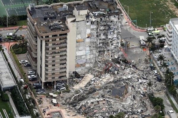 Mỹ: Sập chung cư 12 tầng, 3 người chết, 99 người mất tích có nhiều người nước ngoài