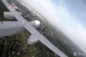 UAV tấn công mới nhất Altius của Nga lần đầu tiên 'thông nòng'