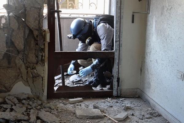 vũ khí,hóa học,syria