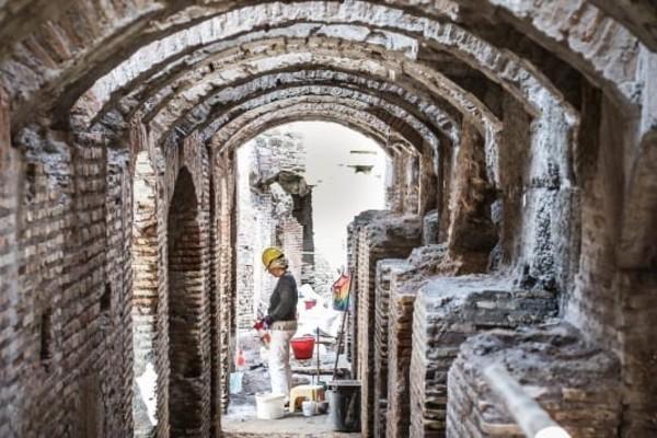 Lần đầu tiên mở cửa Đấu trường La Mã tại Rome dưới lòng đất