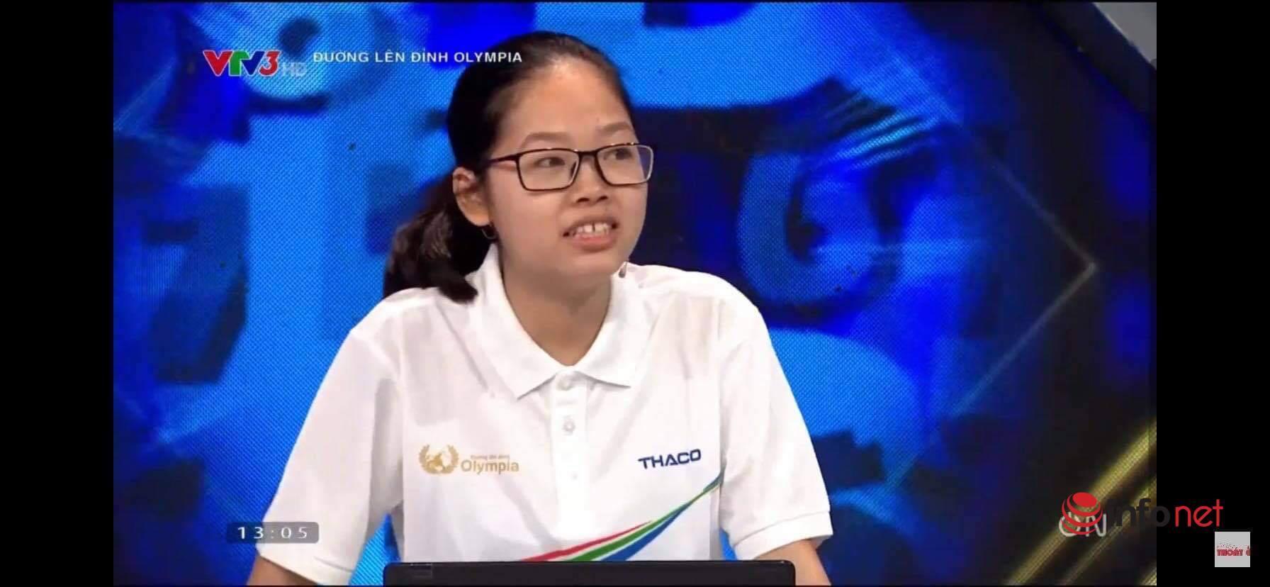 Nữ sinh Hà Nội cùng lúc chạm 2 kỉ lục Đường lên đỉnh Olympia