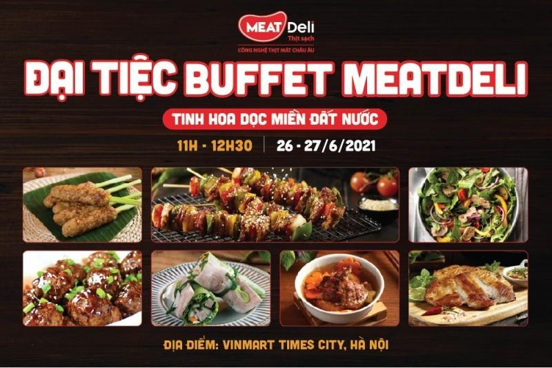 VinMart,buffet 99k,MEATDeli