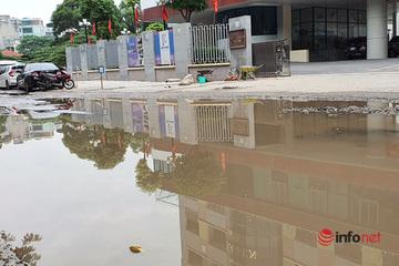 Đường 'nát như ao làng' đi qua 3 trường học ở Hà Nội, Quận muốn các Sở cấp bách vào cuộc