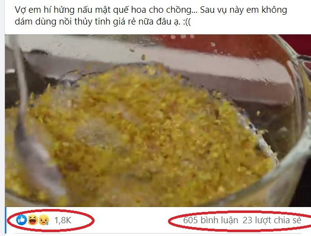 Nồi thủy tinh đang nấu nổ bung trên bếp khiến cộng đồng mạng 'nổi da gà'