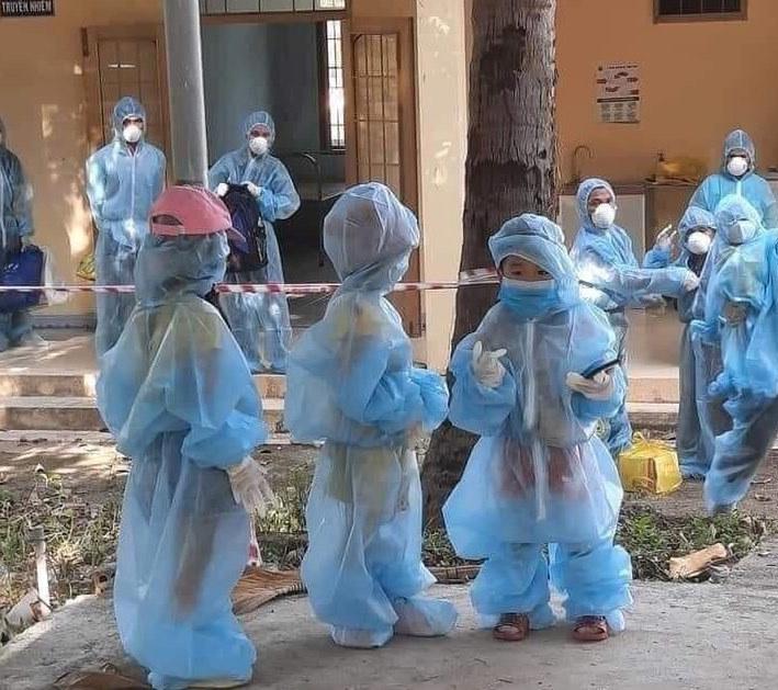Covid-19,Phú Yên,cách ly tập trung,cách ly y tế với trẻ em