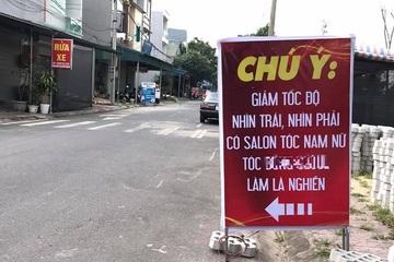 """""""Ngã ngửa"""" khi đọc tấm biển bên đường, dân mạng khen quảng cáo sáng tạo"""