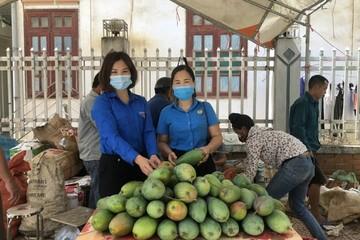 Huyện Đoàn Bắc Yên giải cứu nông sản cho đồng bào Mông