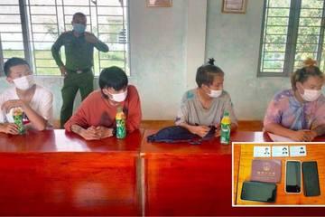 4 người Trung Quốc nhập cảnh trái phép bị phát hiện khi đi mua thức ăn