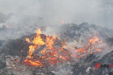 Nghệ An chấn chỉnh việc đốt rác, xả thải sai quy định