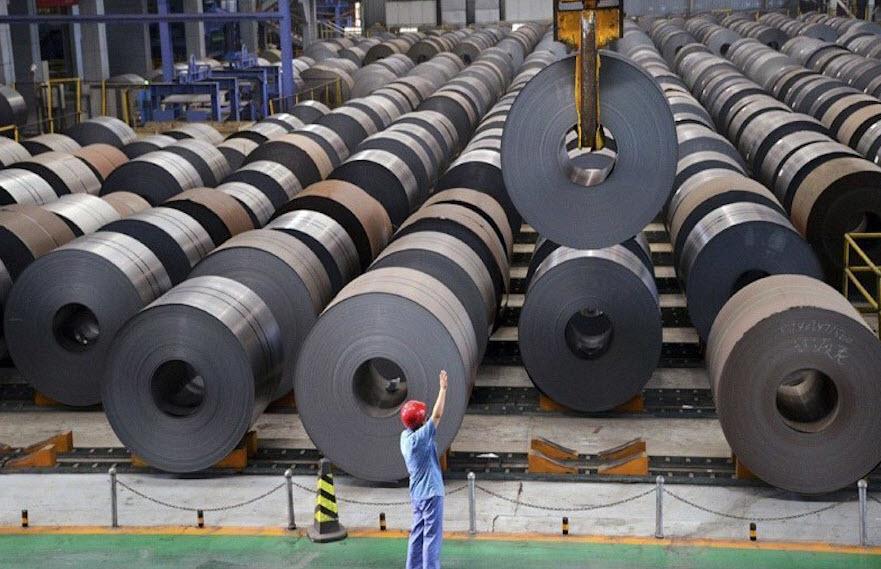xuất khẩu,sắt thép