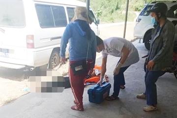 Đi tắm thác, nữ sinh viên bị đá lăn trúng đầu tử vong