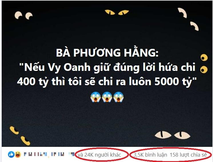 CĐM háo hức mong 'thách đấu' của CEO Phương Hằng và Vy Oanh có kết quả nộp vào quỹ phòng chống Covid-19 tới 5.400 tỷ đồng!