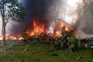 Philippines: Rơi máy bay quân sự chở 92 người, ít nhất 17 người thiệt mạng