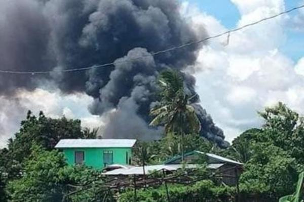 Hiện trường vụ tai nạn khủng khiếp nhất trong 30 năm của không quân Philippines