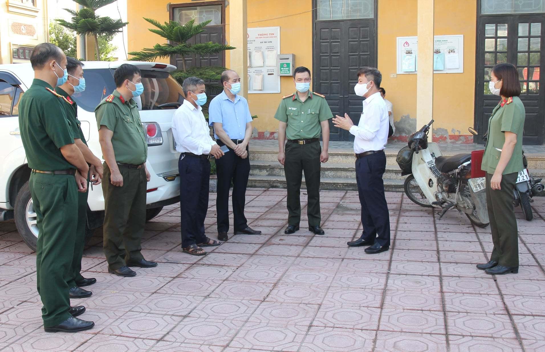 Hà Nam: Công an tỉnh kiểm tra phòng dịch ngay sau khi có ca nhiễm Covid-19 mới
