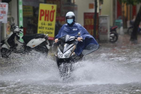 Bắc Bộ nhiều nơi mưa rất to, nguy cơ ngập úng, lũ quét