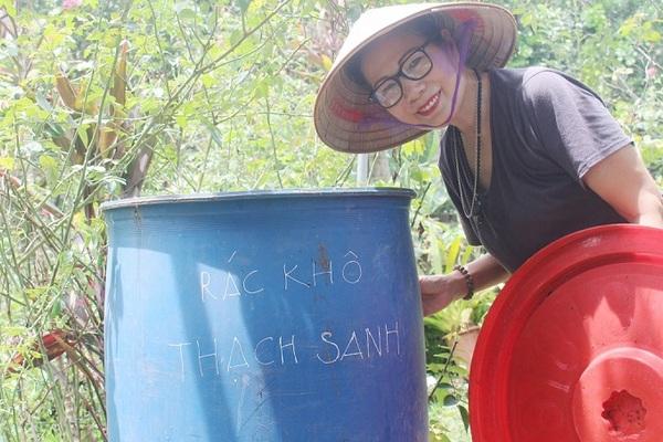 Nữ Thiếu tá về hưu khởi xướng phương pháp xử lý rác thải IMO ở huyện Sóc Sơn