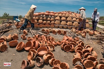 Bình Thuận: Nguy cơ mai một nghề gốm truyền thống của người Chăm