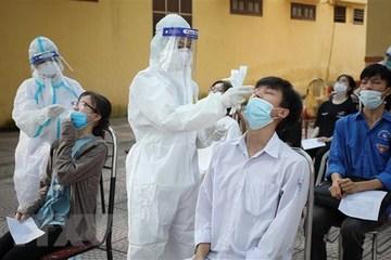 Thí sinh có giấy xét nghiệm Covid-19 âm tính: 'Vẫn có nguy cơ lây nhiễm'