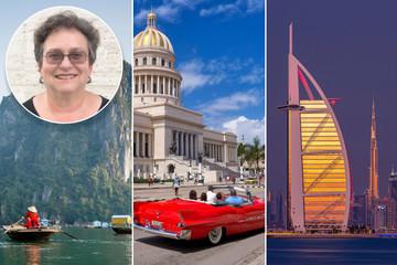 Cụ bà 70 tuổi đi du lịch khắp thế giới, con số thống kê thực sự đáng chú ý