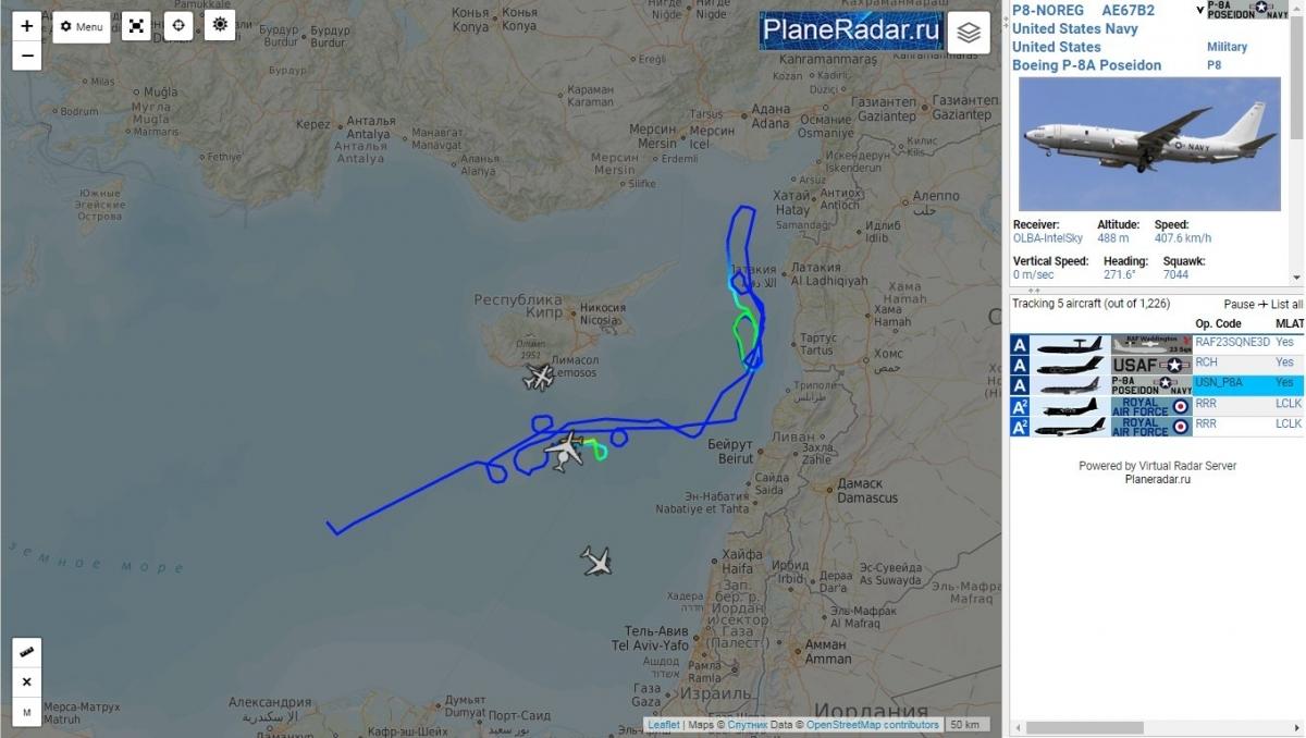 Máy bay chiến đấu của Nga trên Địa Trung Hải khiến NATO 'hoảng loạn'