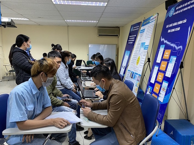Hà Nội hoàn thành mục tiêu hơn 3,1 triệu tài khoản VssID- BHXH số được đăng ký sử dụng