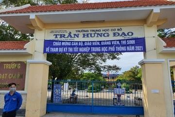 """Phú Yên: Gần 800 thí sinh """"đen đủi"""" phải dừng thi tốt nghiệp THPT khẩn cấp vì 2 điểm thi nghi có F0"""