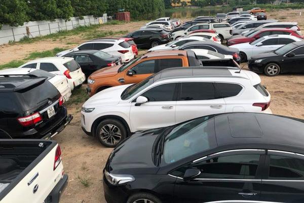 gần 100 xe ô tô,trộm cắp,siêu khủng,công an,cầu giấy,đại tá