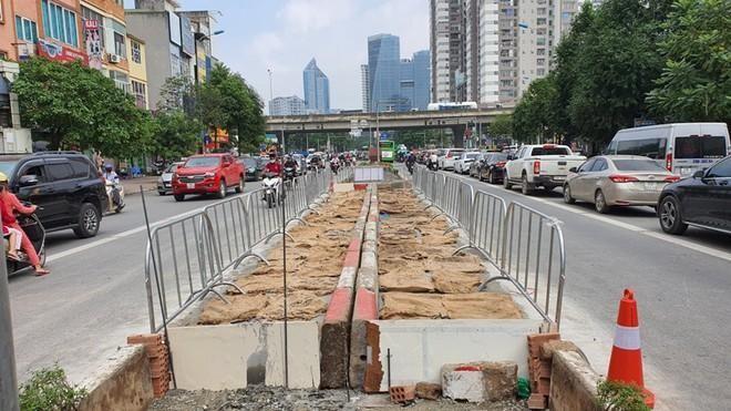 Công trình giao thông,Cầu vượt hồ Linh Đàm,giao thông,môi trường,tắc đường