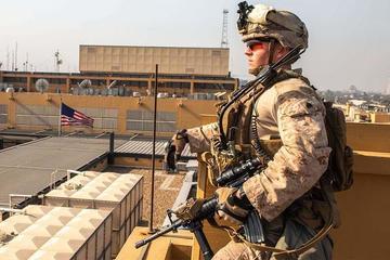 Quân đội Mỹ ở Iraq và Syria liên tiếp bị rocket cùng UAV tấn công