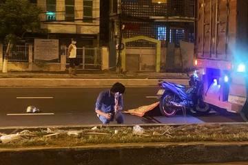 Xe máy va chạm xe đầu kéo, người đàn ông tử vong tại chỗ