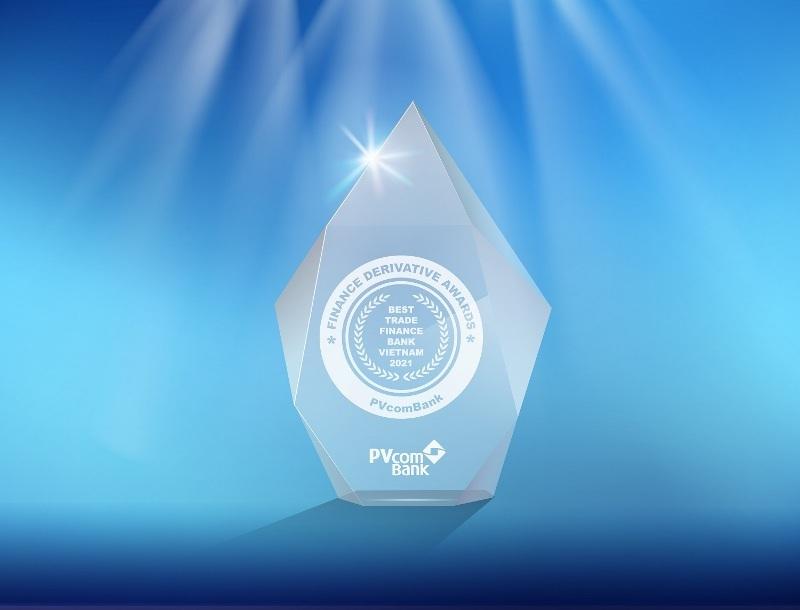 PVcomBank,giải thưởng quốc tế