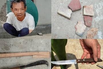 Hà Tĩnh: Giải cứu 2 cháu bé 6 tuổi bị ông nội nhốt, cố thủ trong nhà