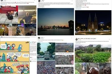 'Sài Gòn cố lên' - hastag được cộng đồng mạng dùng nhiều nhất lúc này