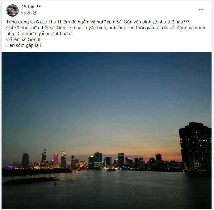 Sài Gòn cố lên',giãn cách xã hội